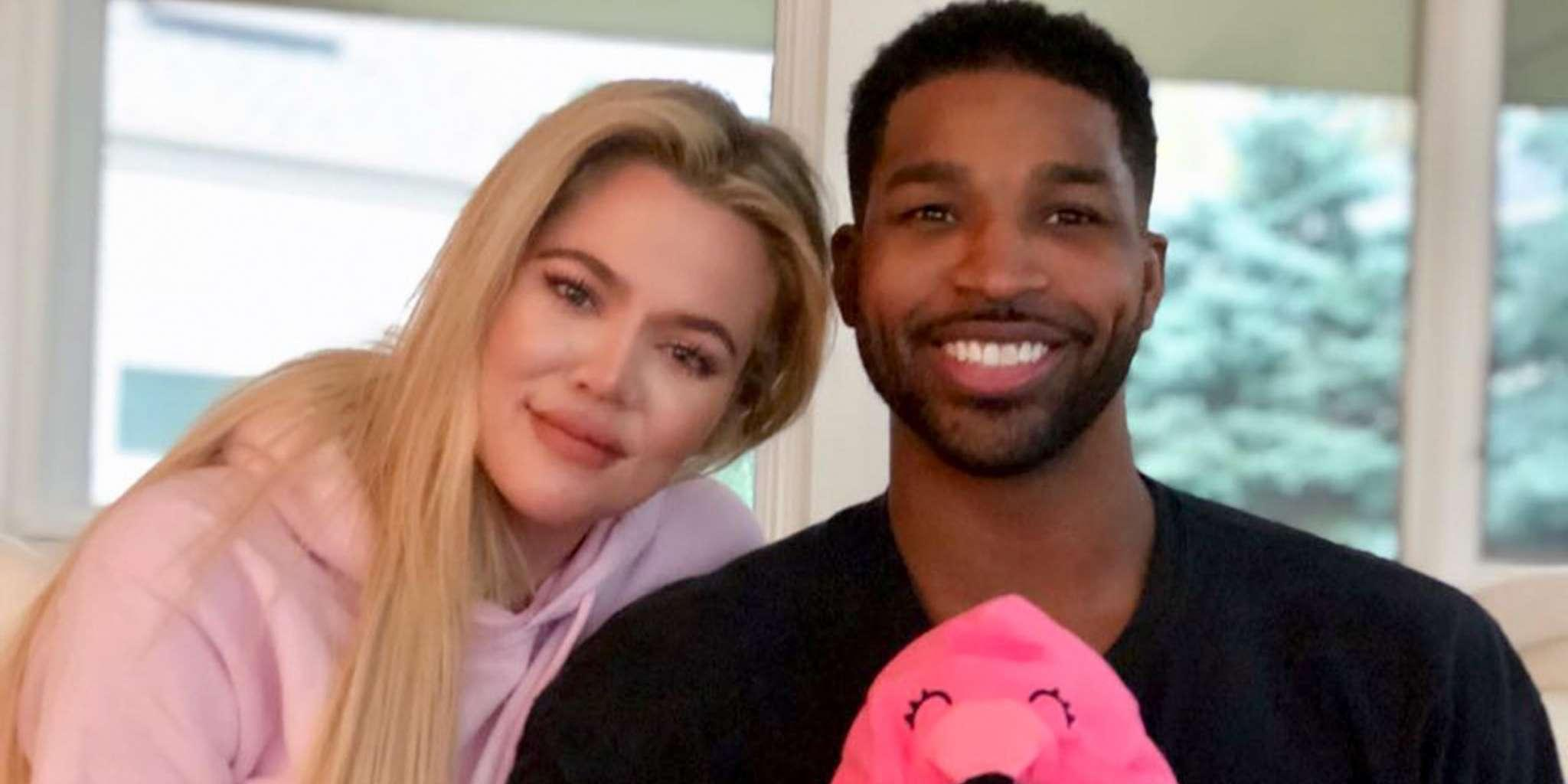 Khloe Kardashian And Tristan Thompson Share A Kiss In 2019 After Khloe Detailed What 2018 Meant To Her
