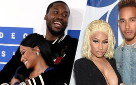 Meek Mill And Lewis Hamilton, Spotted Partying Together And Fans Believe They're Discussing Nicki Minaj