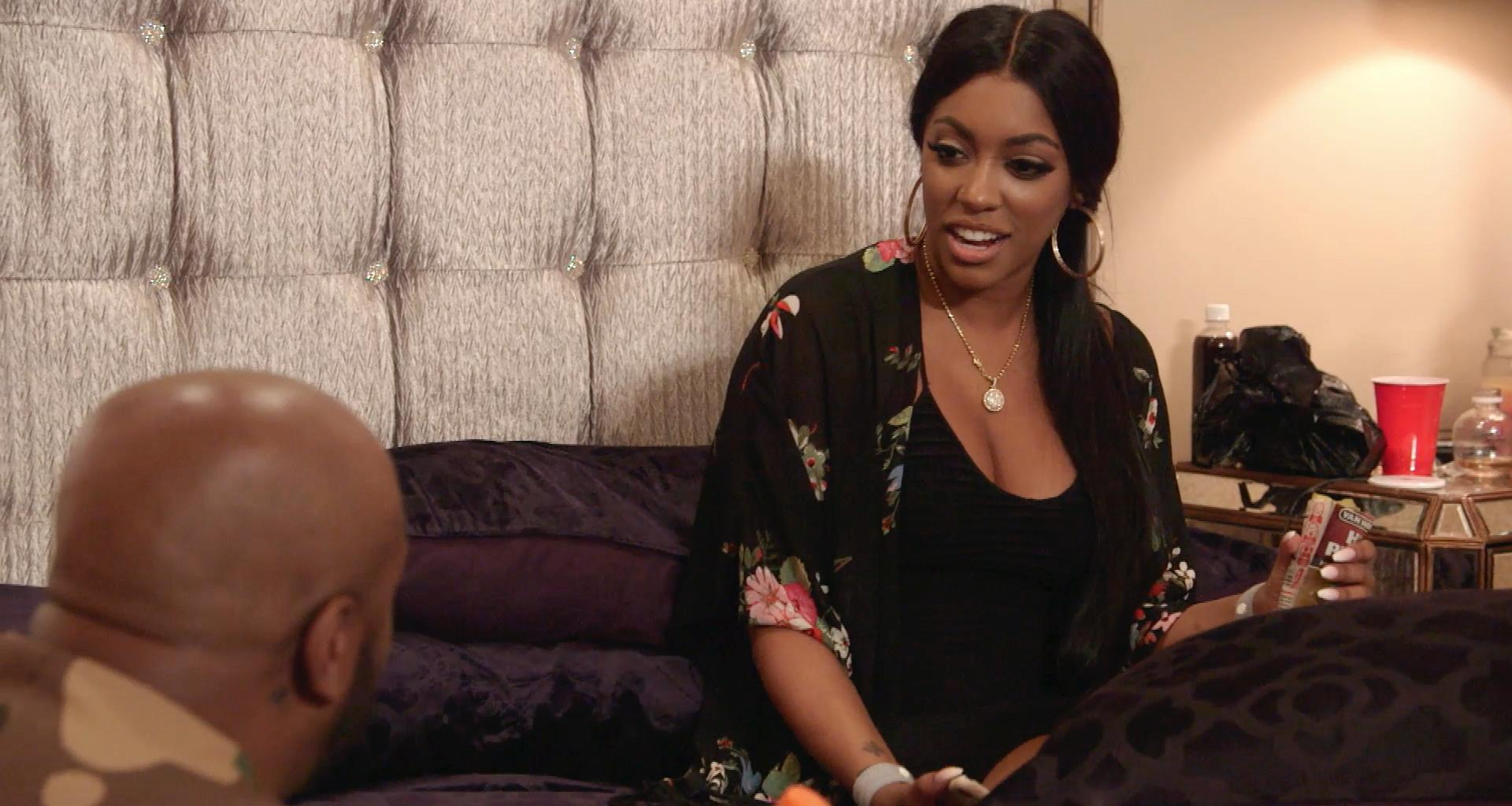 Porsha Williams Shares A Throwback Pic With Baby PJ's 'First Night In The Club' - The Future Mommy Looks Amazing