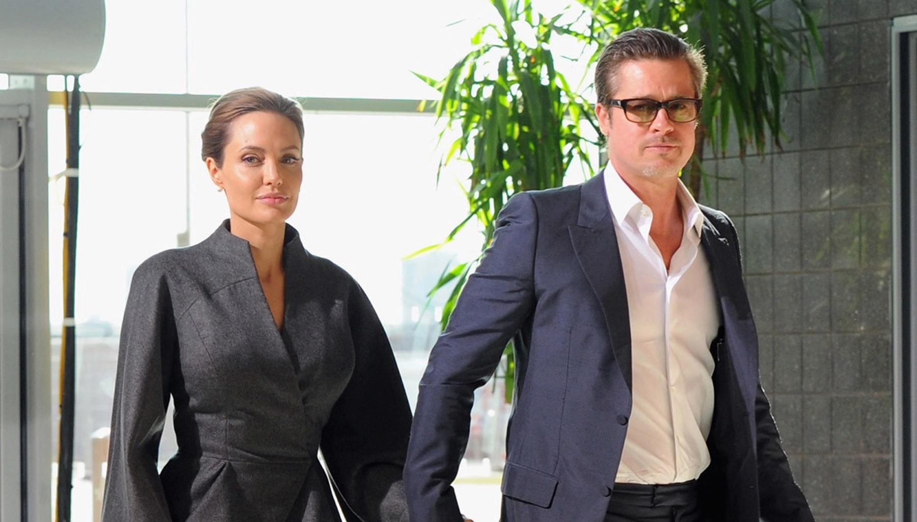Brad Pitt Hopes To Go Public With His New Girlfriend -- He Wants Angelina Jolie To Set Him Free -- Is It Charlize Theron?