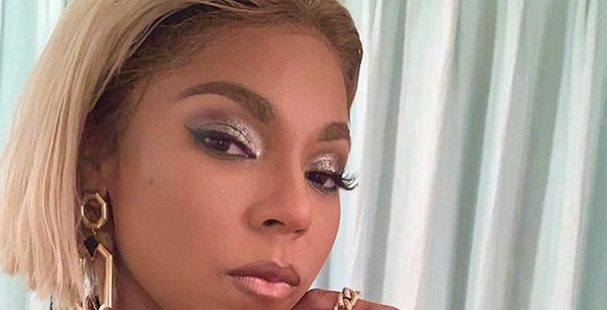 Ashanti Wore A 'Giant Comforter' In Pictures From The Grammy Awards Ceremony -- She Also Reminded Some Of Tamar Braxton