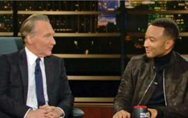 John Legend Talks R. Kelly With Bill Maher — Says He Doesn't Play His Music