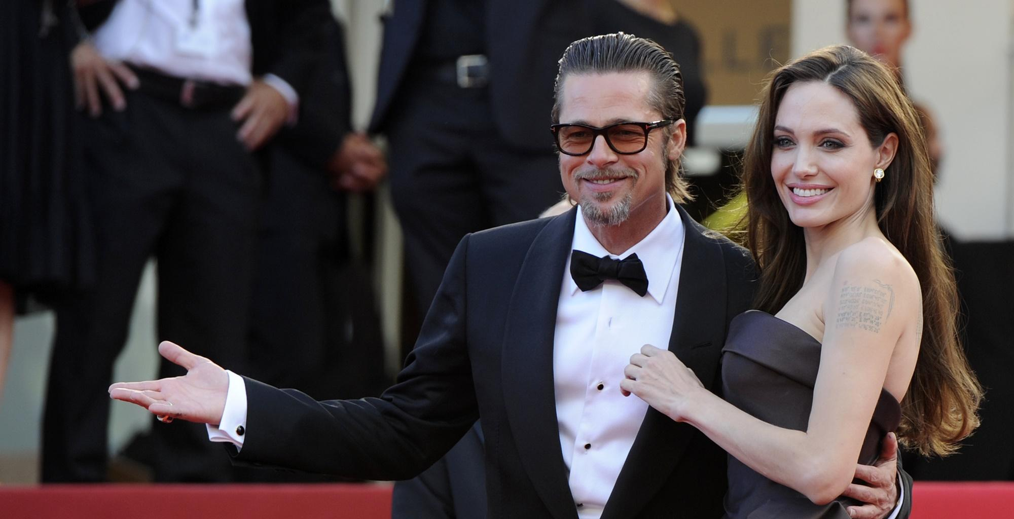 Tense Angelina Jolie And Brad Pitt Meeting Caught In Viral Picture -- Fans Are Still Hoping For An Amicable Divorce Agreement