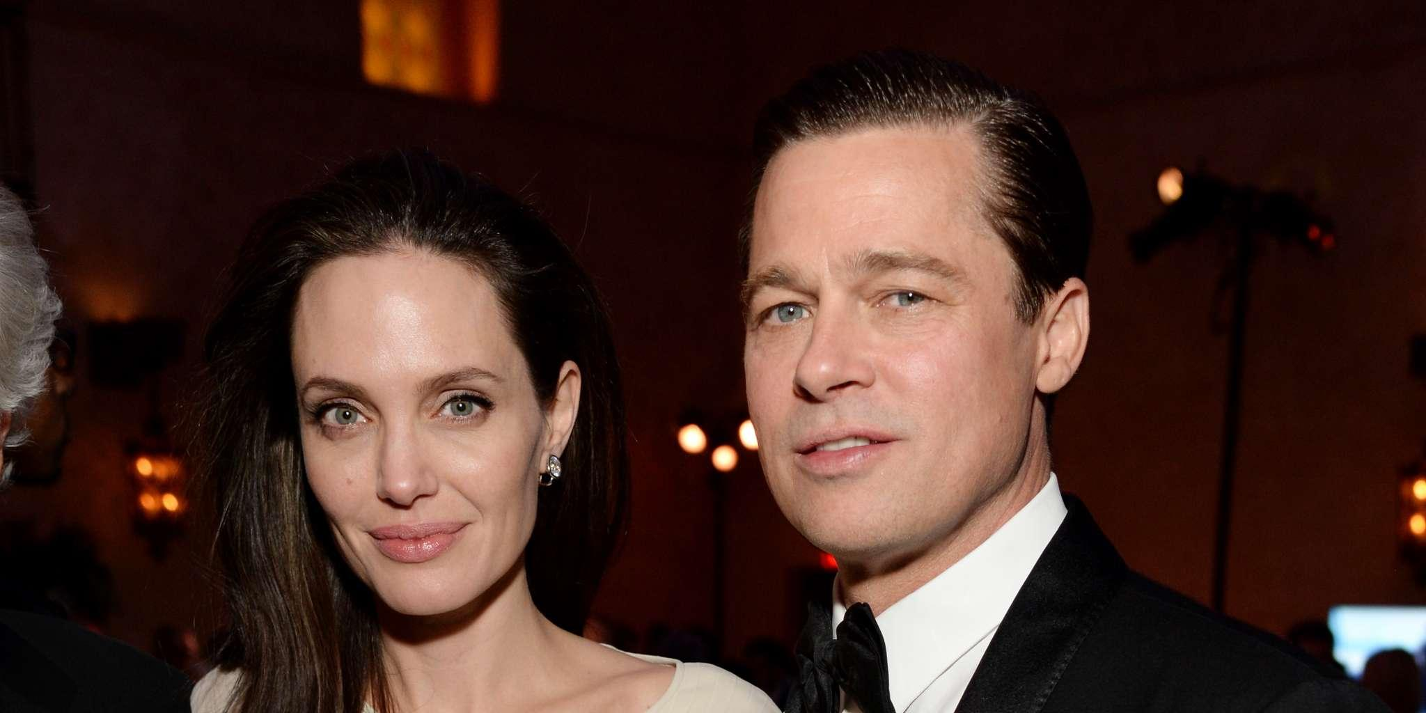 Brad Pitt And Angelina Jolie - Here's What They Talked About During First Public Meeting Since Divorce!