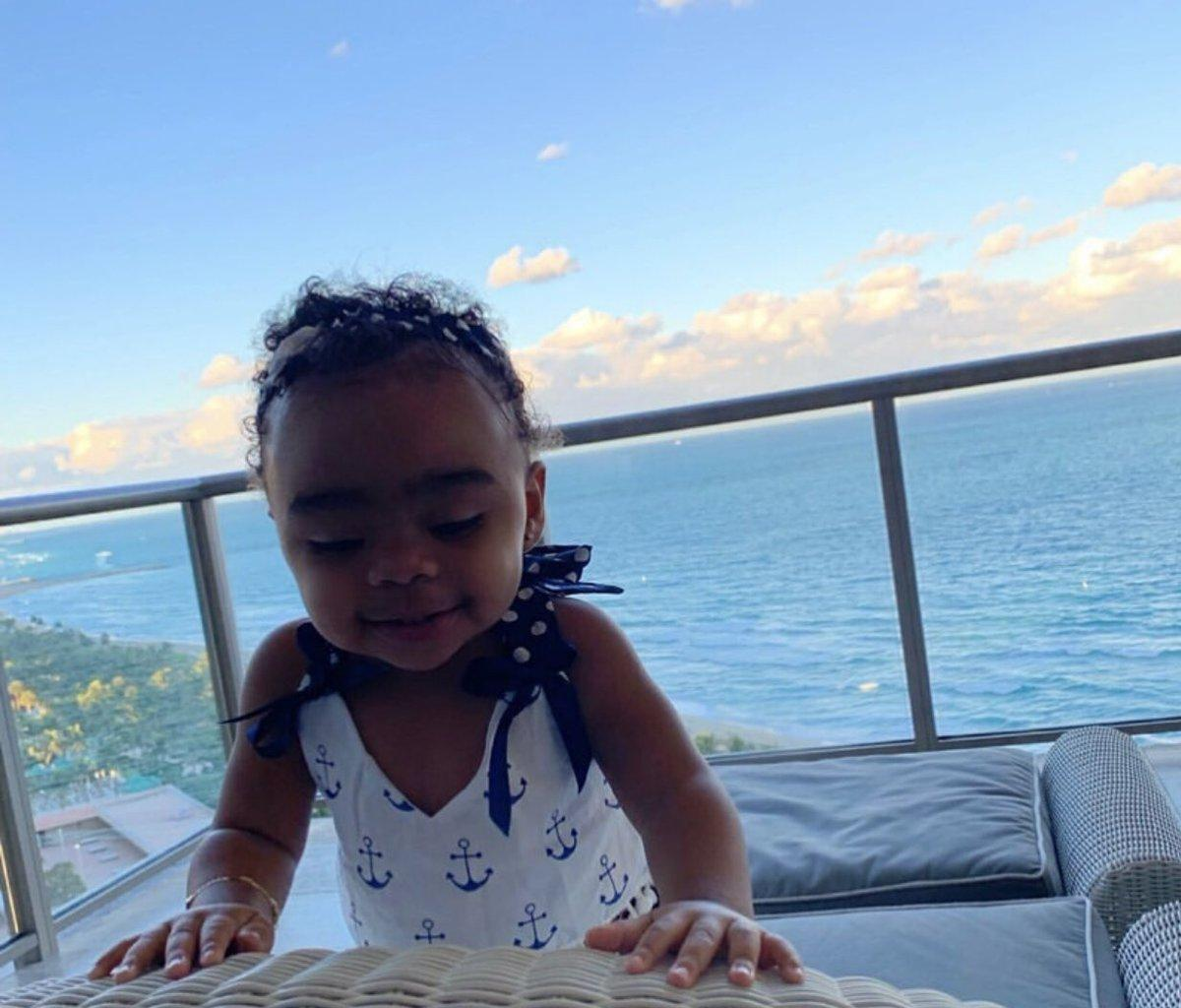 Toya Wright Shares More Photos With Reign Rushing From Her First Birthday And Fans Are Gushing Over The Baby Girl