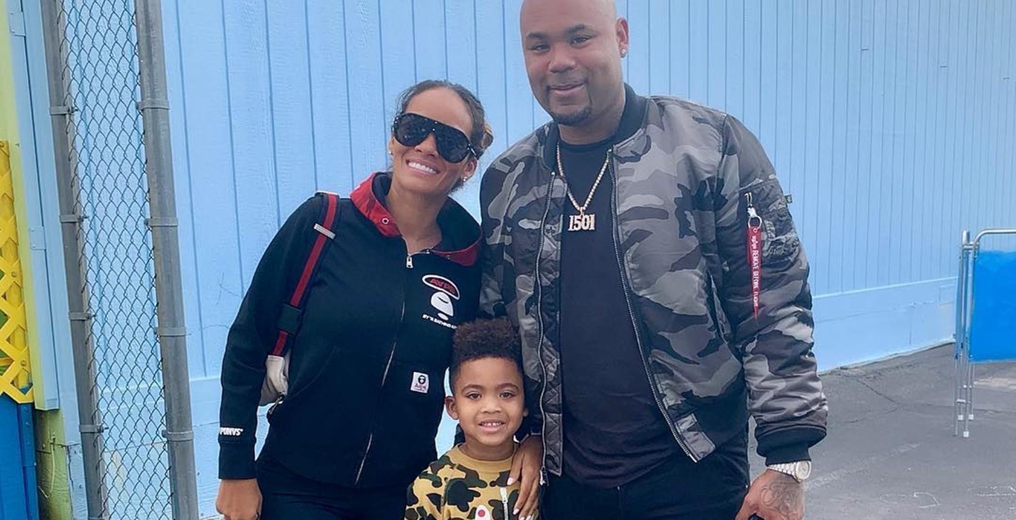 'Basketball Wives' Star Evelyn Lozada Unveils Video Of Son Leo Showing His Impressive Skills Like His Father, Carl Crawford