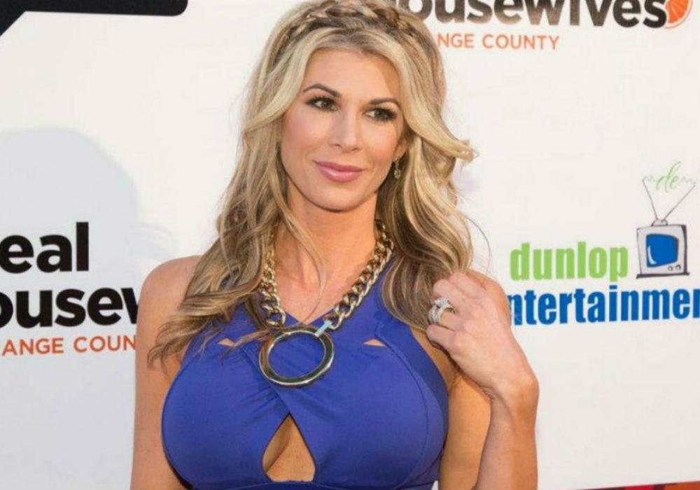 Former RHOC Alexis Bellino Already Talking Babies After Going Public With Her New Man