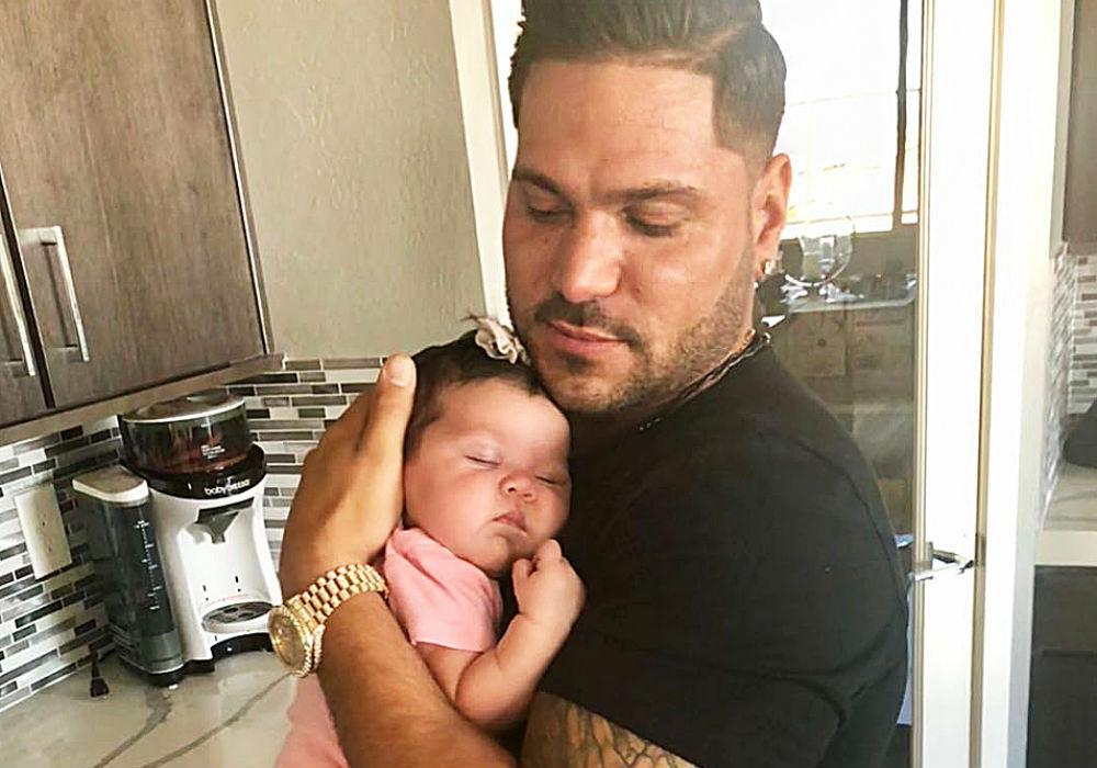 Jersey Shore Star Ronnie Ortiz-Magro Claims His Daughter Is The One That Saved His Life