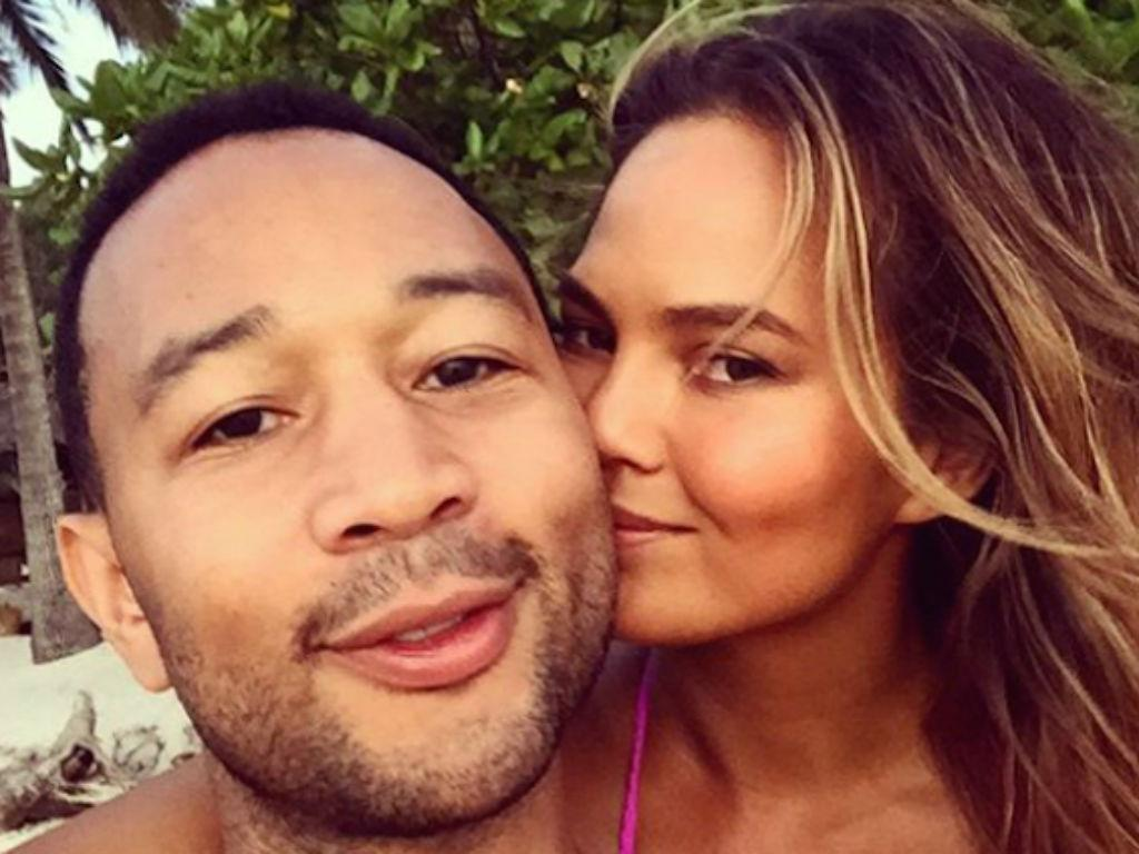 Chrissy Teigen Sends John Legend Off To His First Day At The Voice In Hilarious New Sneak Peek Video