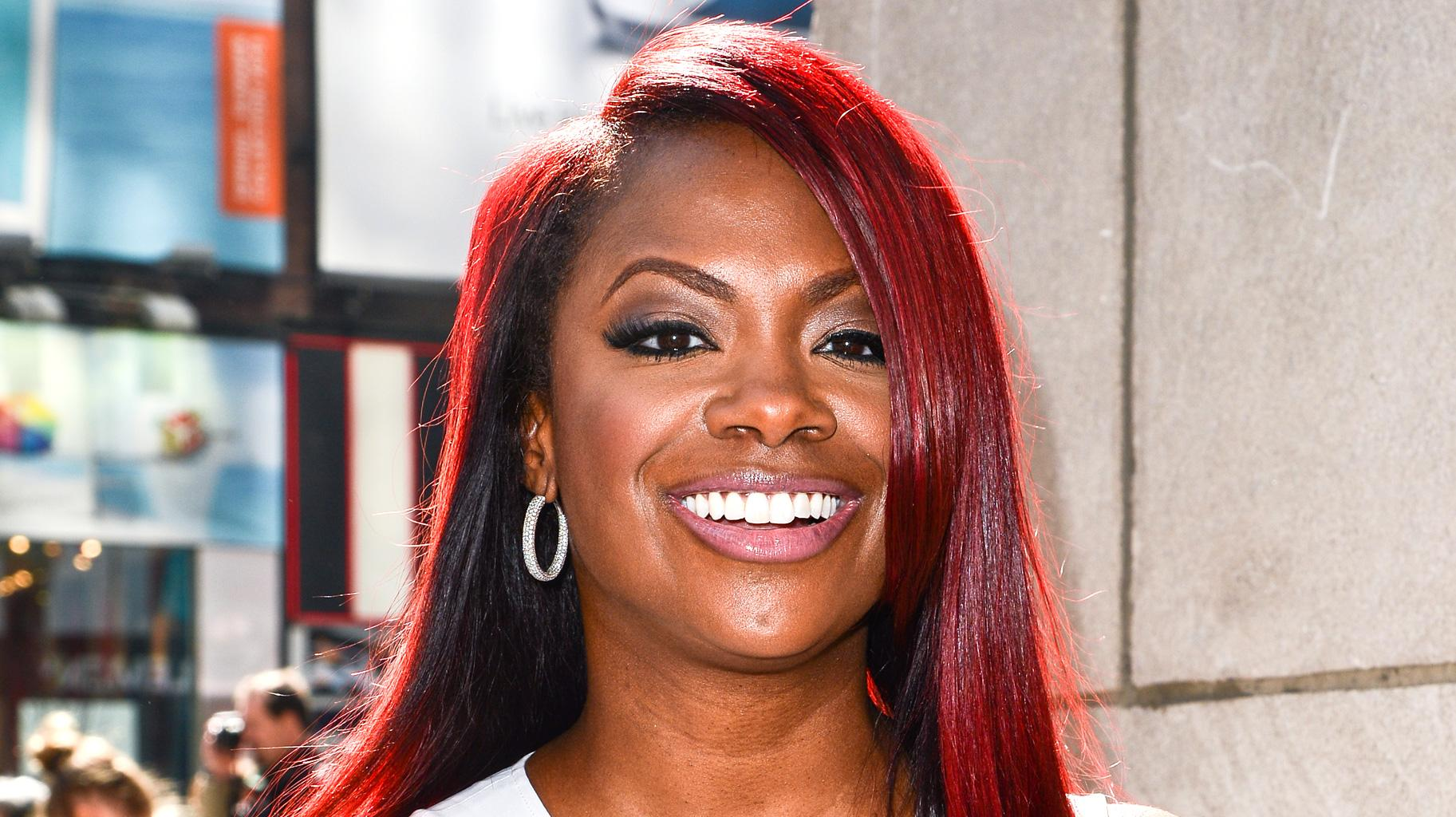 Kandi Burruss' Latest Photo With Riley Burruss Next To A Graphic Representation Of Snoop Dogg Has Fans Saying She Should Collab With The Rapper
