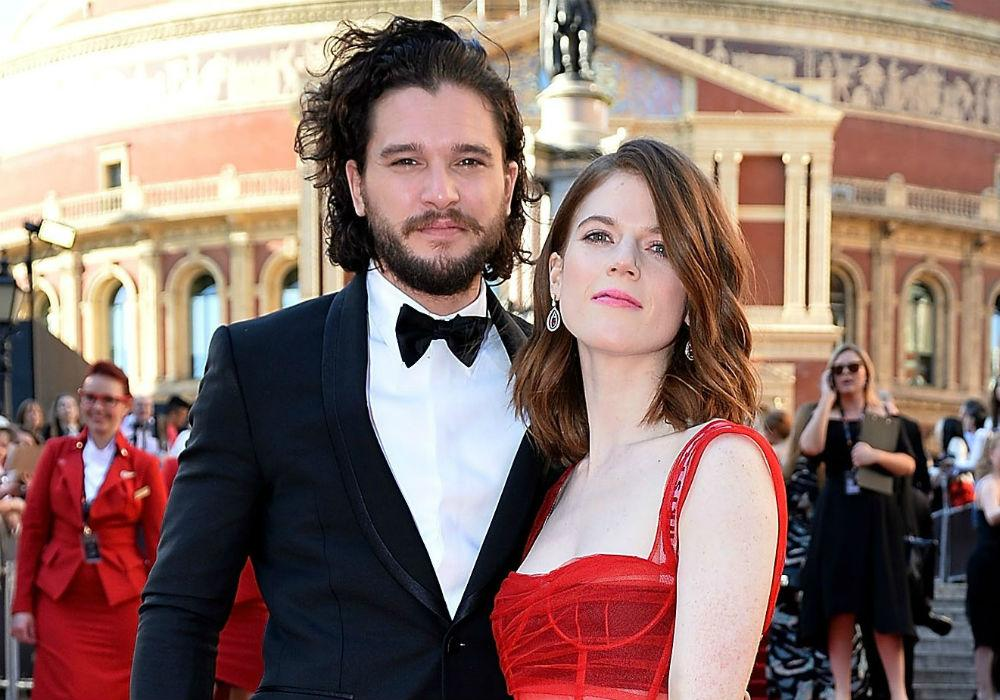 Kit Harington's Wife Rose Leslie Stopped Speaking To Him When He Ruined The End Of Game Of Thrones For Her