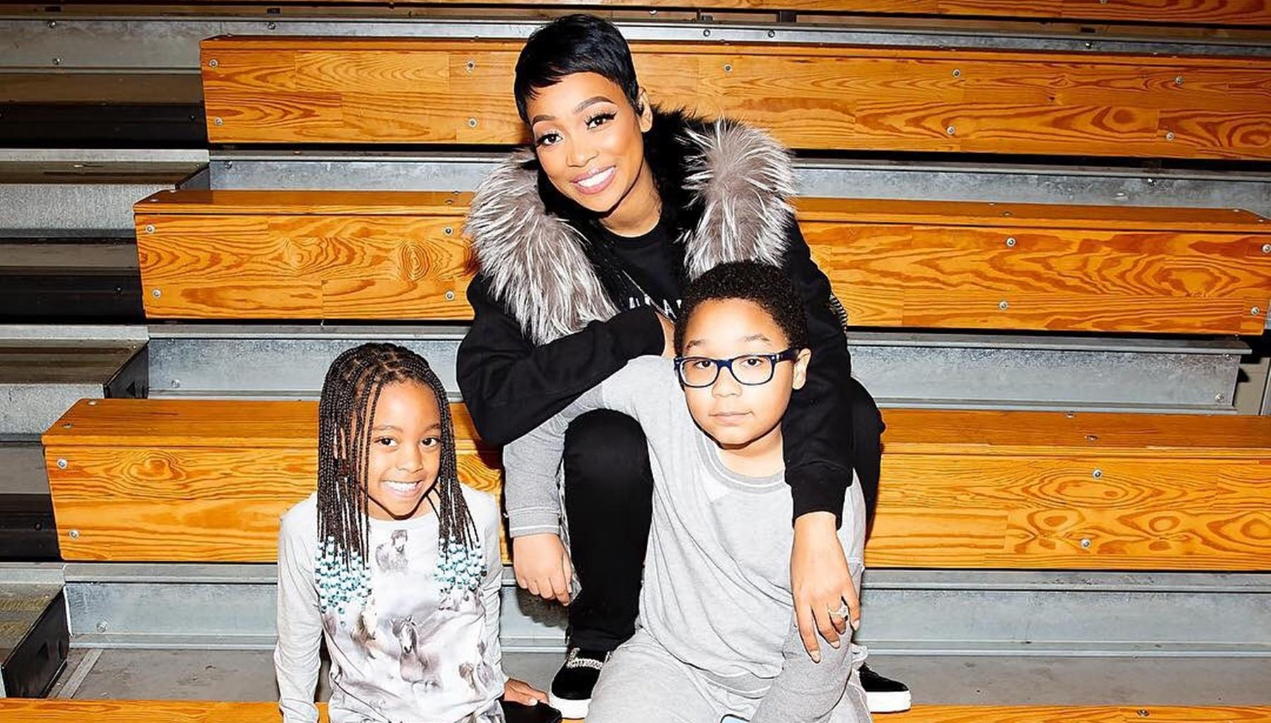Tiny Harris Forced To Explain Why Major Is Not Wearing Expensive Shoes In Picture With Monica Brown