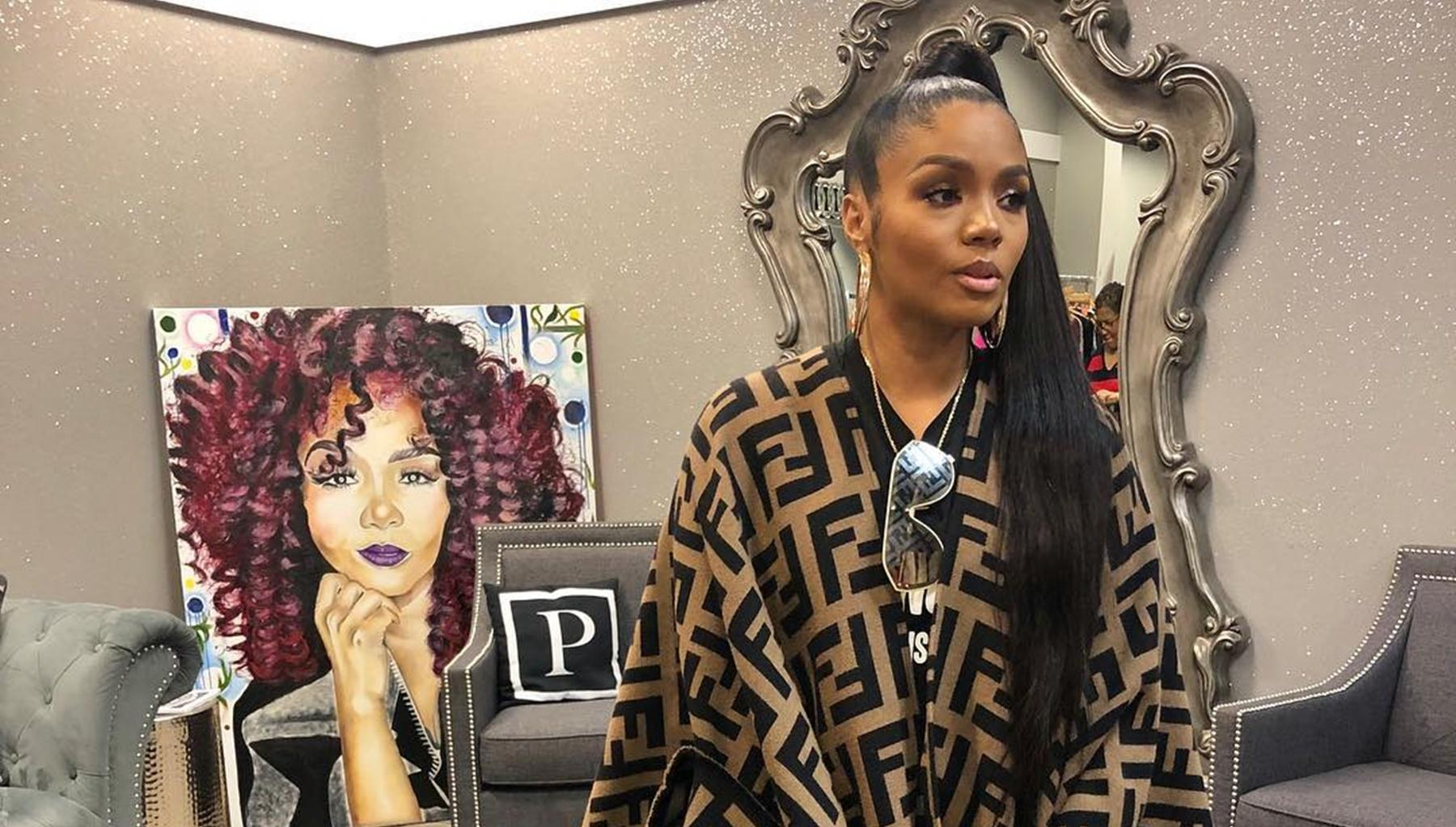 Rasheeda Frost Debuts Slime Hair In New Photo -- Kirk And 'Love And Hip Hop Atlanta' Fans Are Not Ready For This