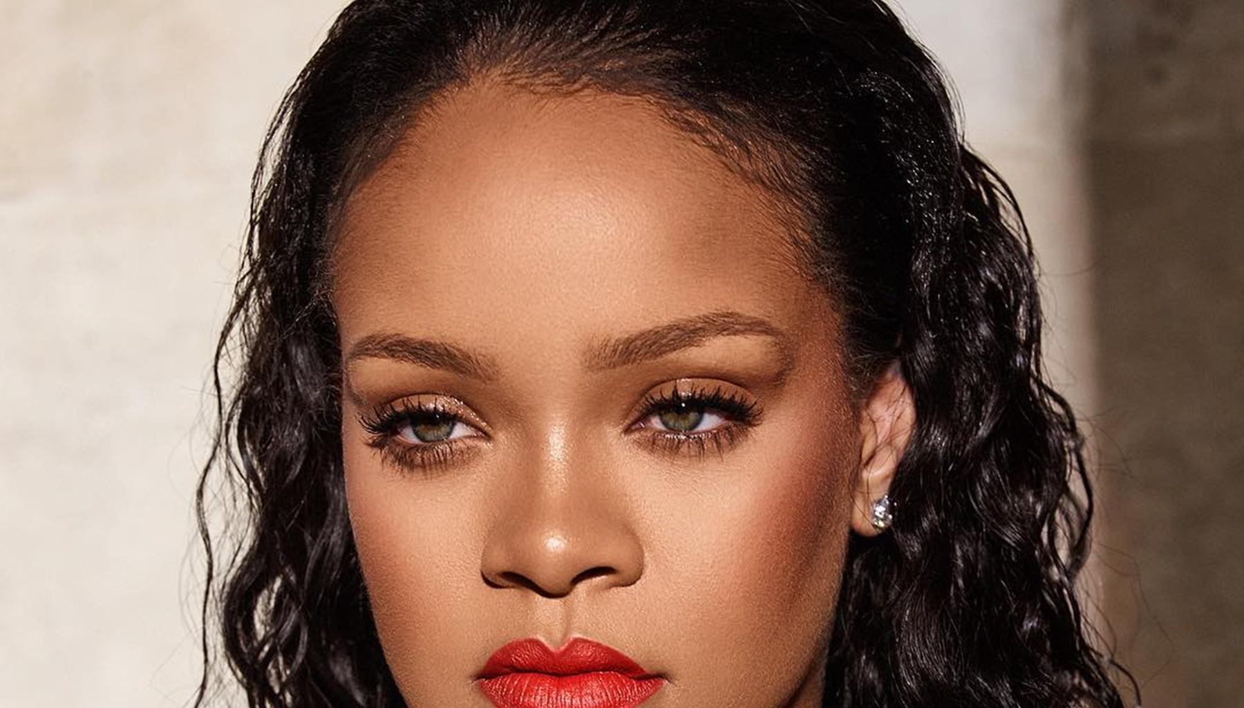 Rihanna Leaves Little To The Imagination In Sizzling New Photos Promoting Lingerie Collection -- Can Chris Brown And Hassan Jameel Keep Up With Her Appeal?