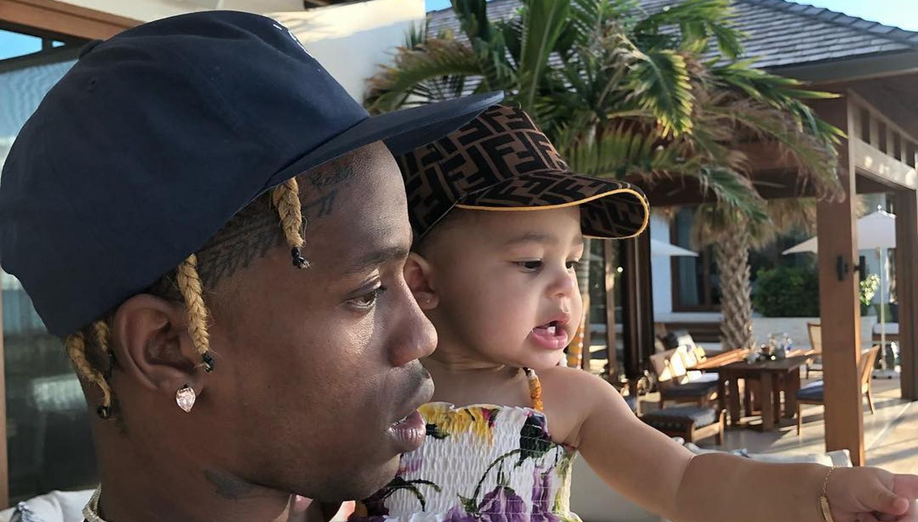 Kylie Jenner Shares Rare Picture That Proves Baby Stormi Is Travis Scott's Twin