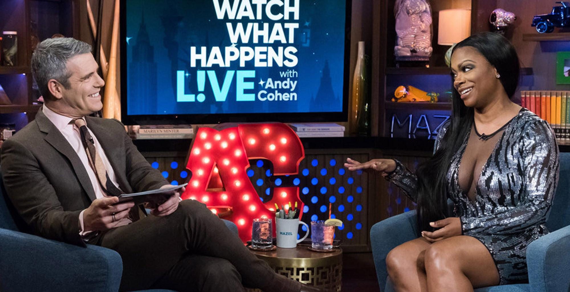 Kandi Burruss And Andy Cohen Get Emotional While Talking About Surrogacy