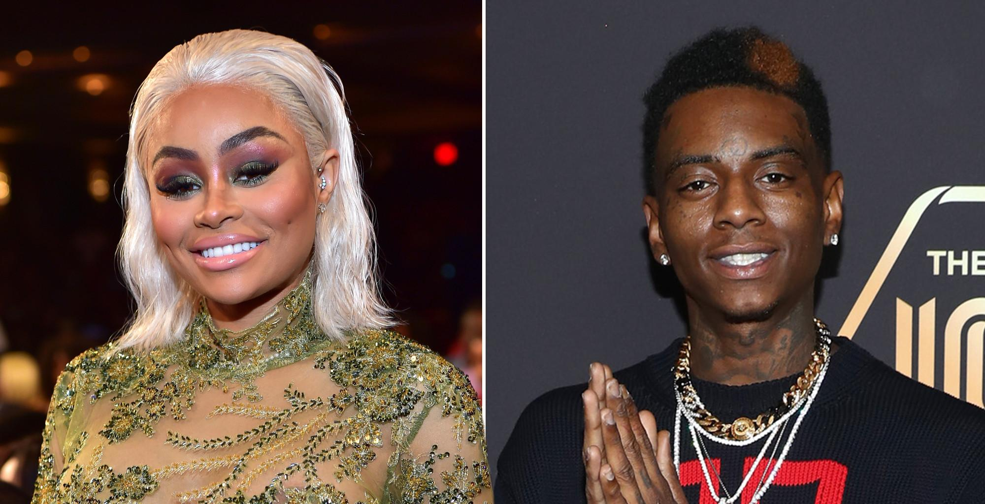 Blac Chyna And Soulja Boy Reportedly Broke Up After Fighting Over Tyga!