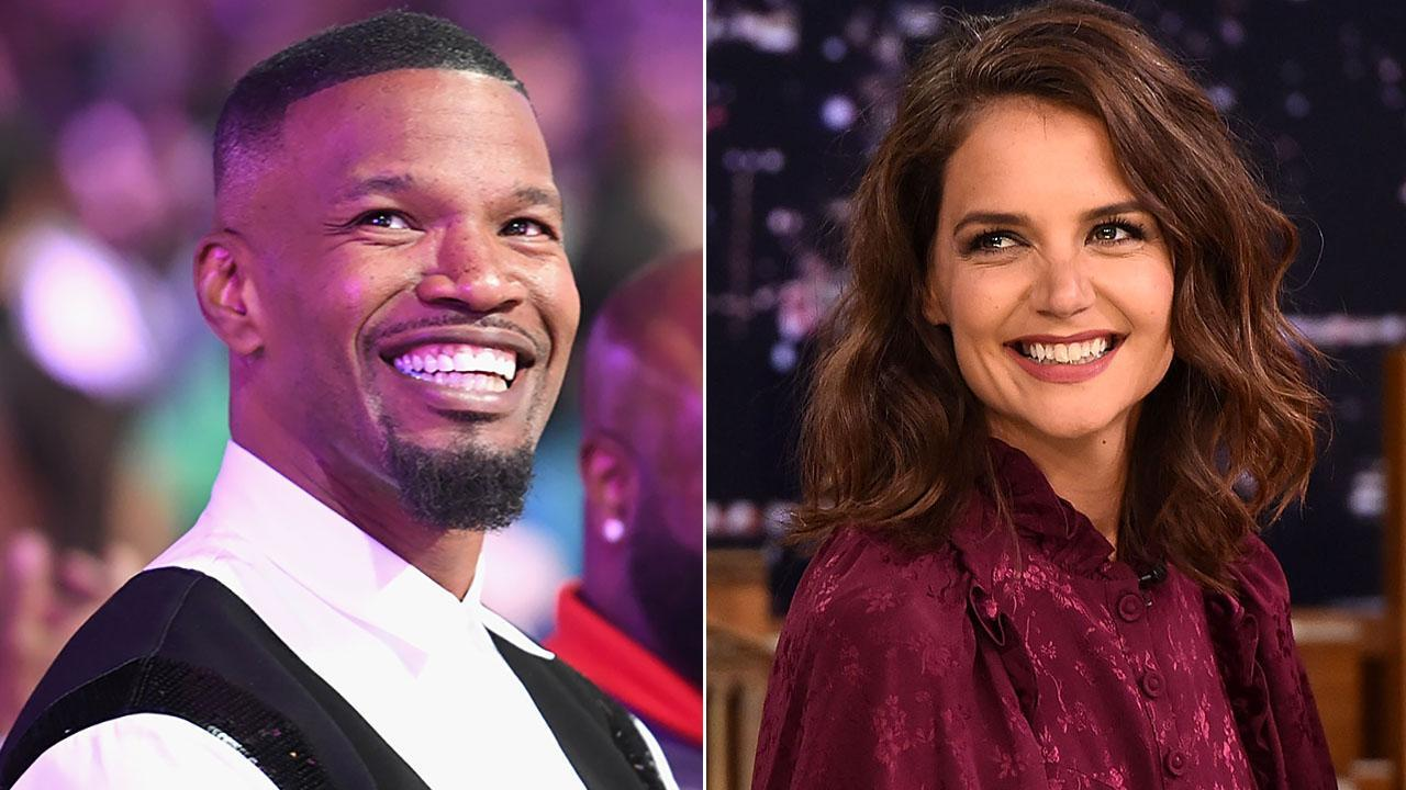 Jamie Foxx And Katie Holmes Might Have Split - He Reportedly Told People At An Oscars After-Party He's Single; Omarosa Was There As Well