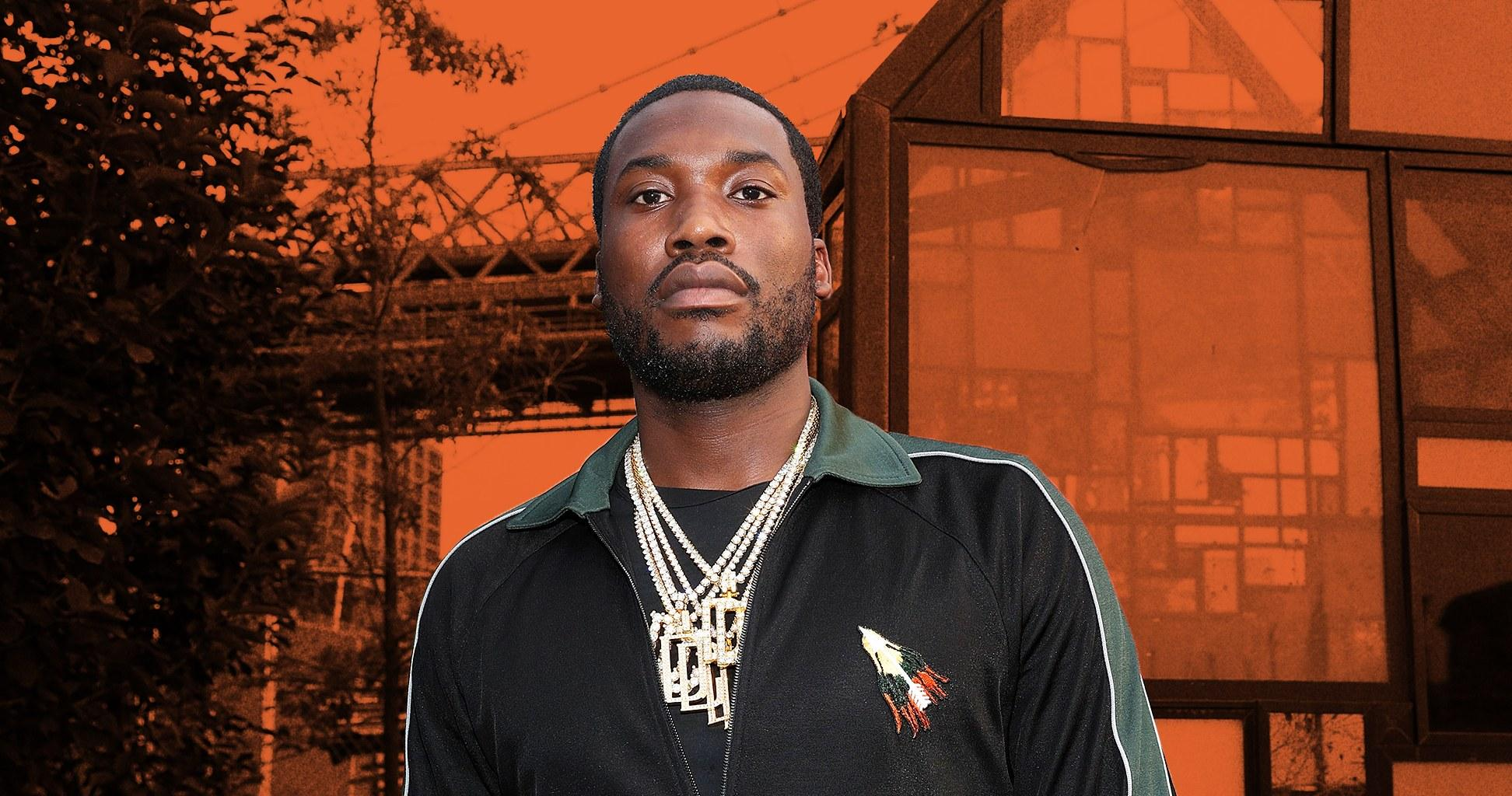 Meek Mill Was Pulled Over By Jamaica Police For A Photo - Watch The Video