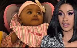 These Videos Of Cardi B And Offset's Daughter, Kulture Will Have You Smile - Fans Call Her 'One Of The Cutest Celeb Babies'