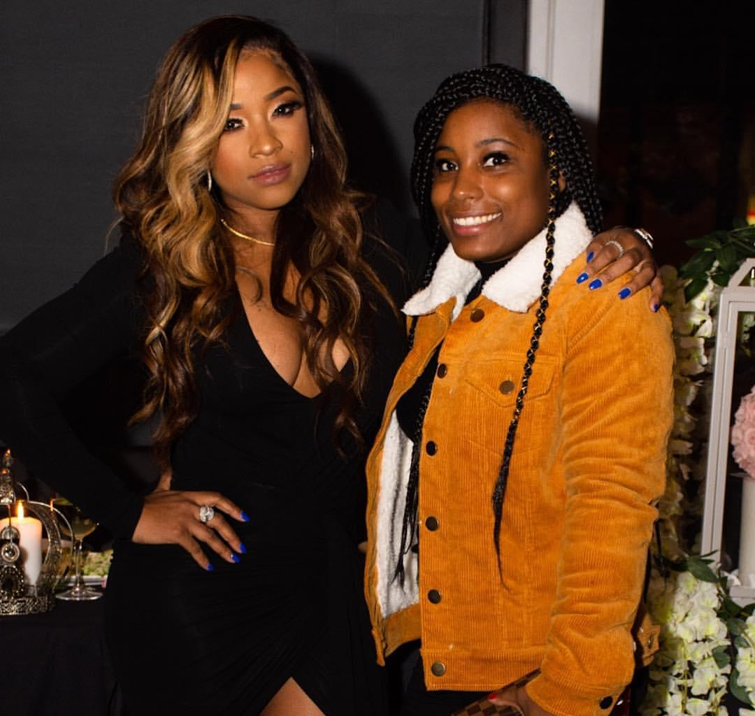 Toya Wright Gushes Over Her Sister, Anisha Johnson For Her Birthday - Check Out The Video