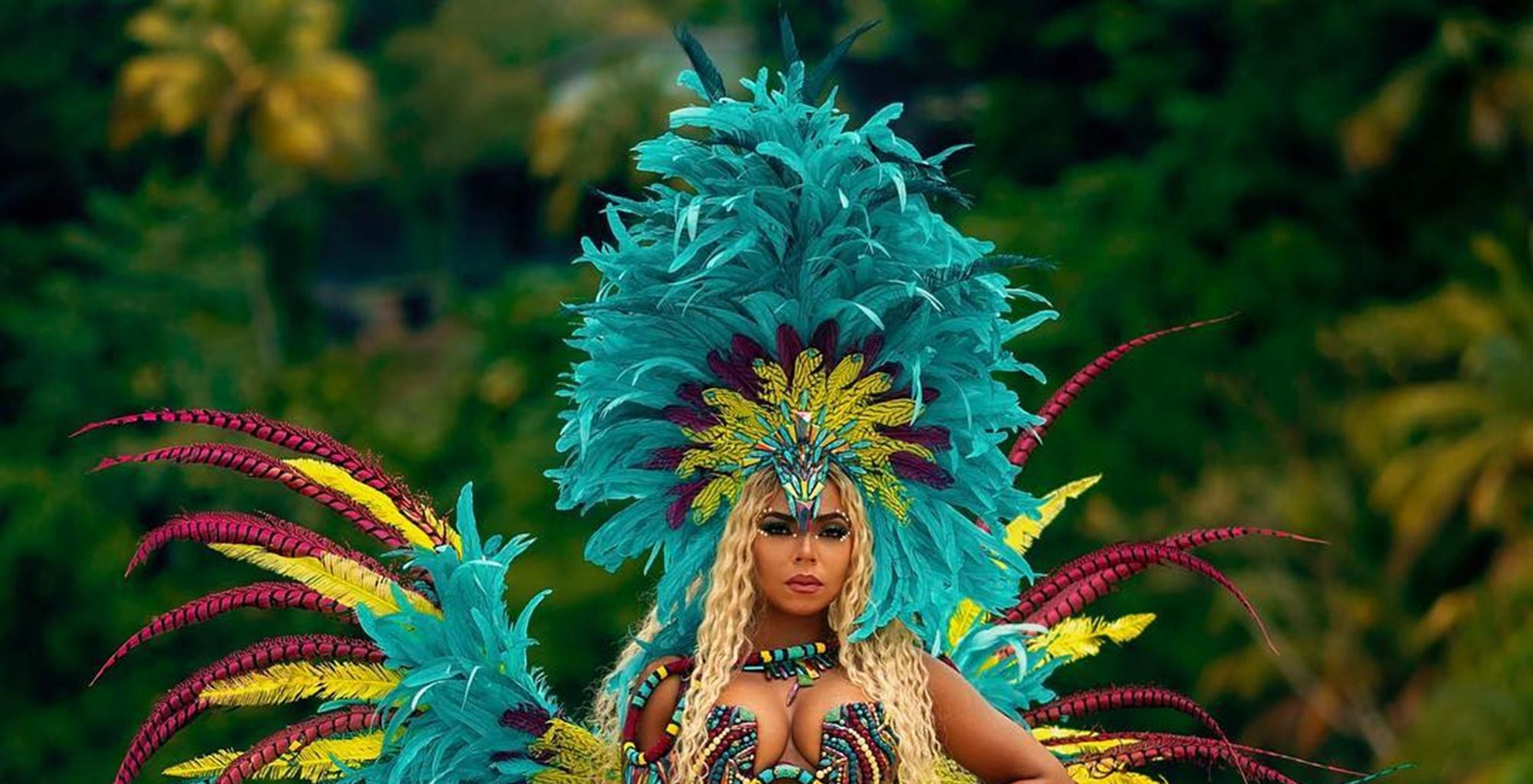 Ashanti Leaves Little To The Imagination In Stunning Carnival Costume Videos