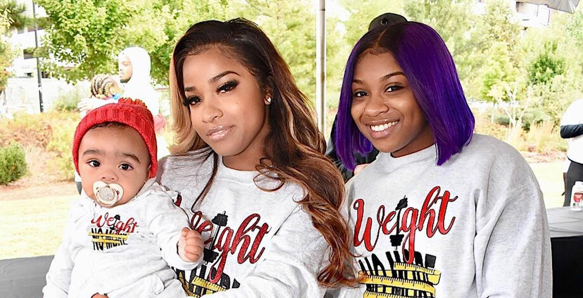Toya Wright Takes Part In Another 'Weight No More' 5K Walk/Run Event For Fighting Obesity Together With Reginae Carter And Robert Rushing - Check Out The Photo