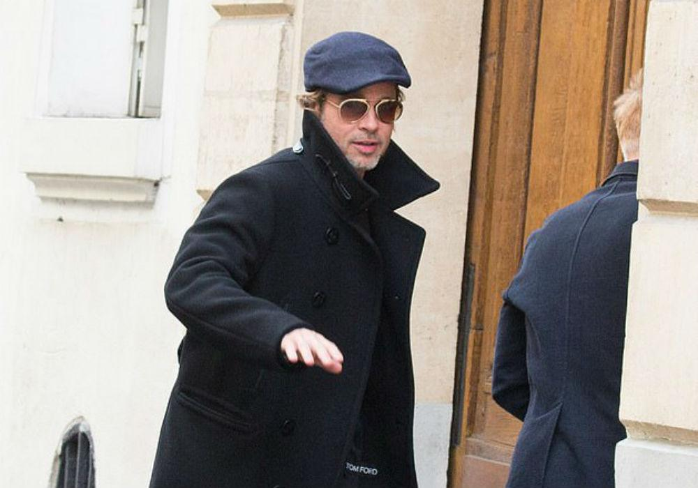 Brad Pitt Spotted Solo In LA After Angelina Jolie's Photo Op With Their Kids