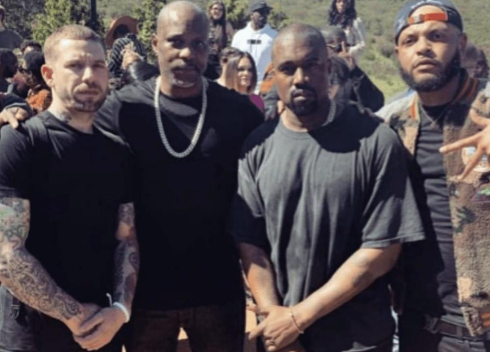 DMX Leads Praise At Kanye West's Sunday Service And North Is Caught In The Spirit