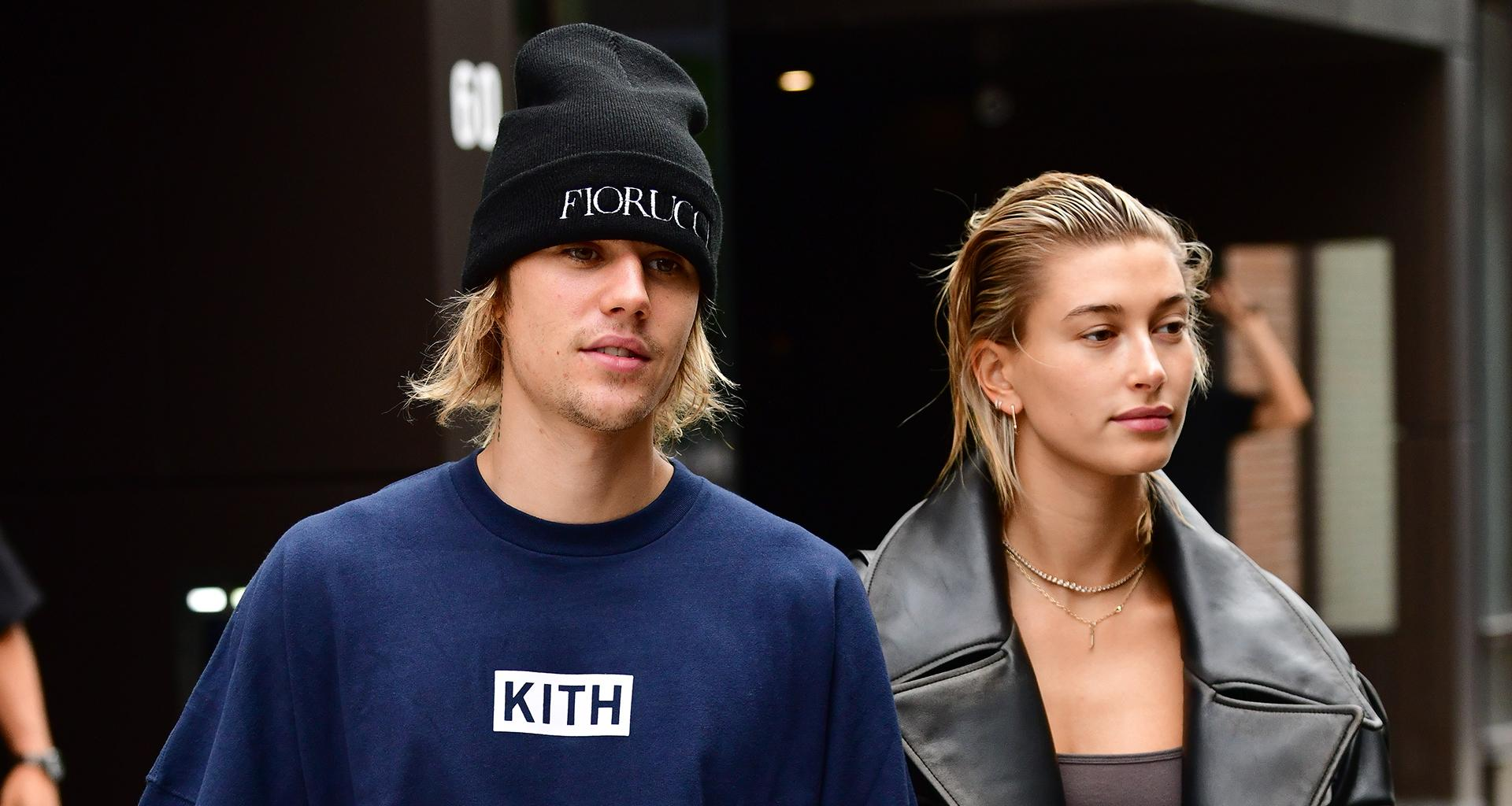 Justin And Hailey Bieber Appear To Get Into Argument At Public Park