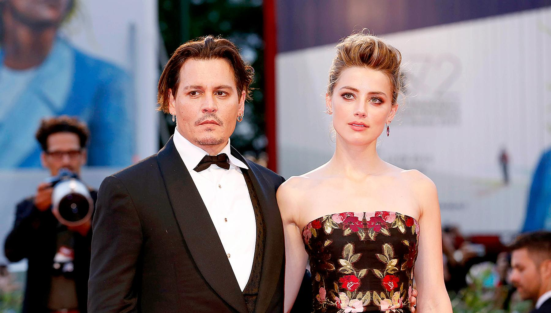 Johnny Depp Claims That His Ex-Wife Amber Heard Broke His Middle Finger's Bones - Court Documents Surface