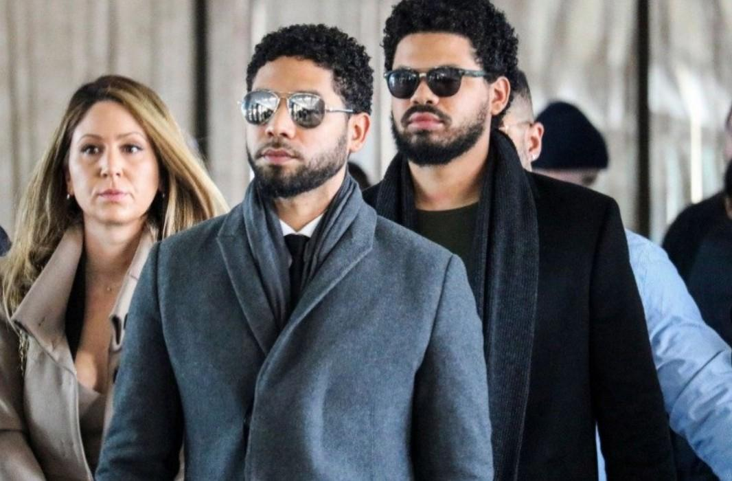 Jussie Smollett's Fans Show Their Support At Courthouse As Actor Pleads Not Guilty