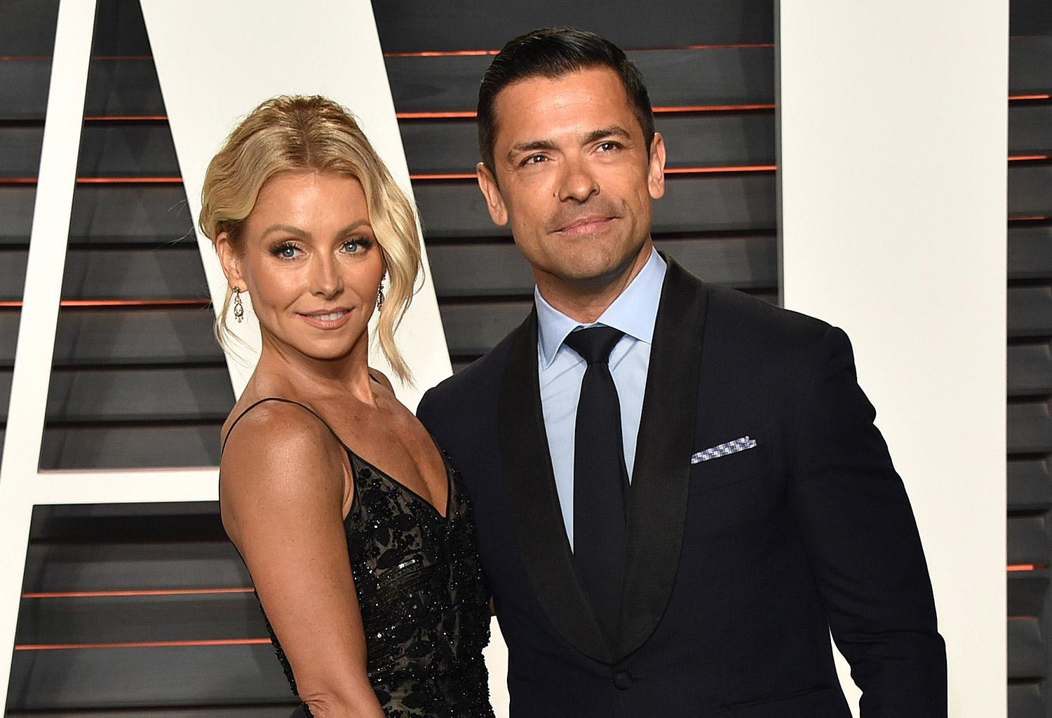 Kelly Ripa Wishes 'Finest Man' Mark Consuelos A Happy Birthday With Sweet Message