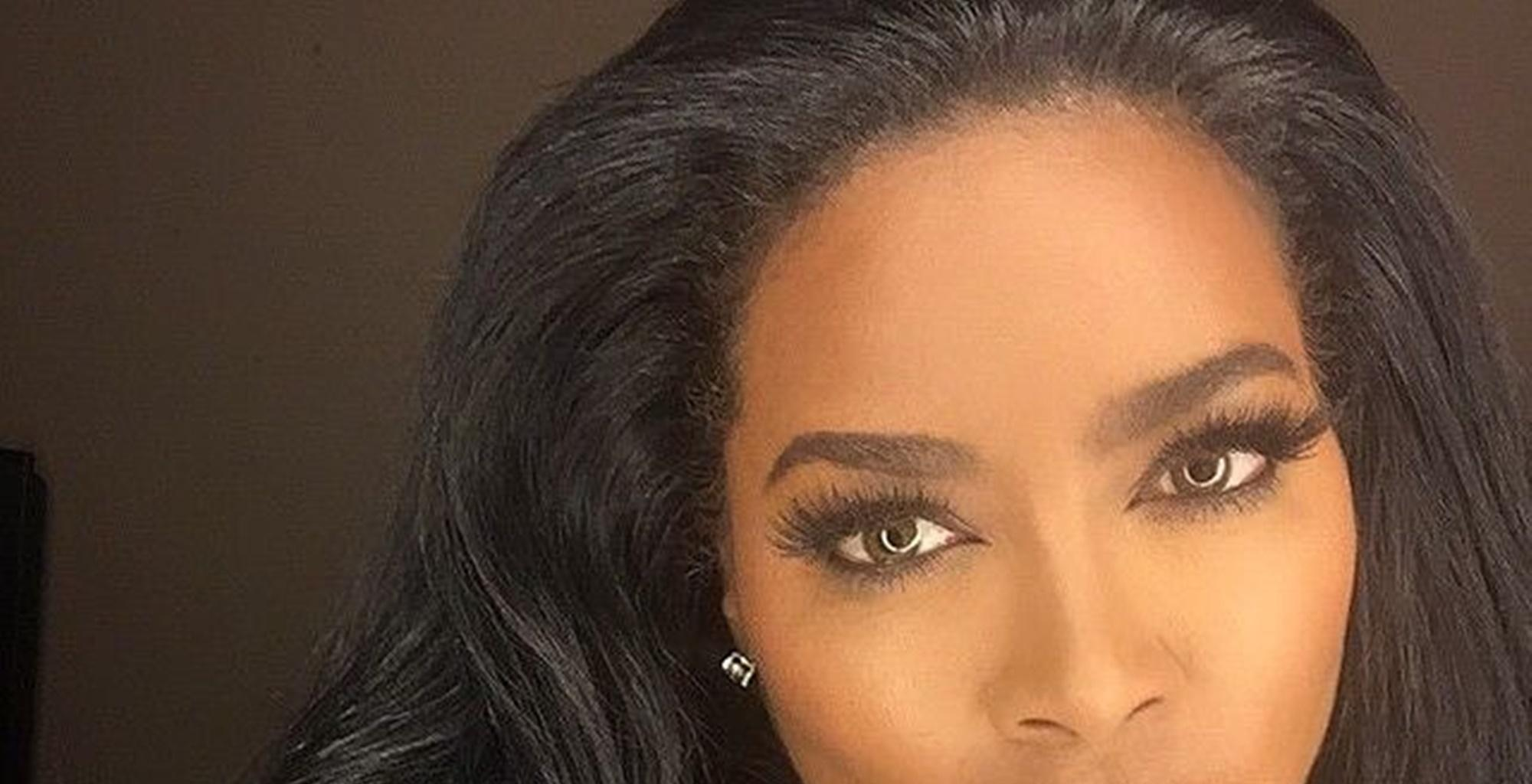 Kenya Moore Addresses Rumors She Had Plastic Surgery After Posting Eye-Popping Picture Of Her Abs