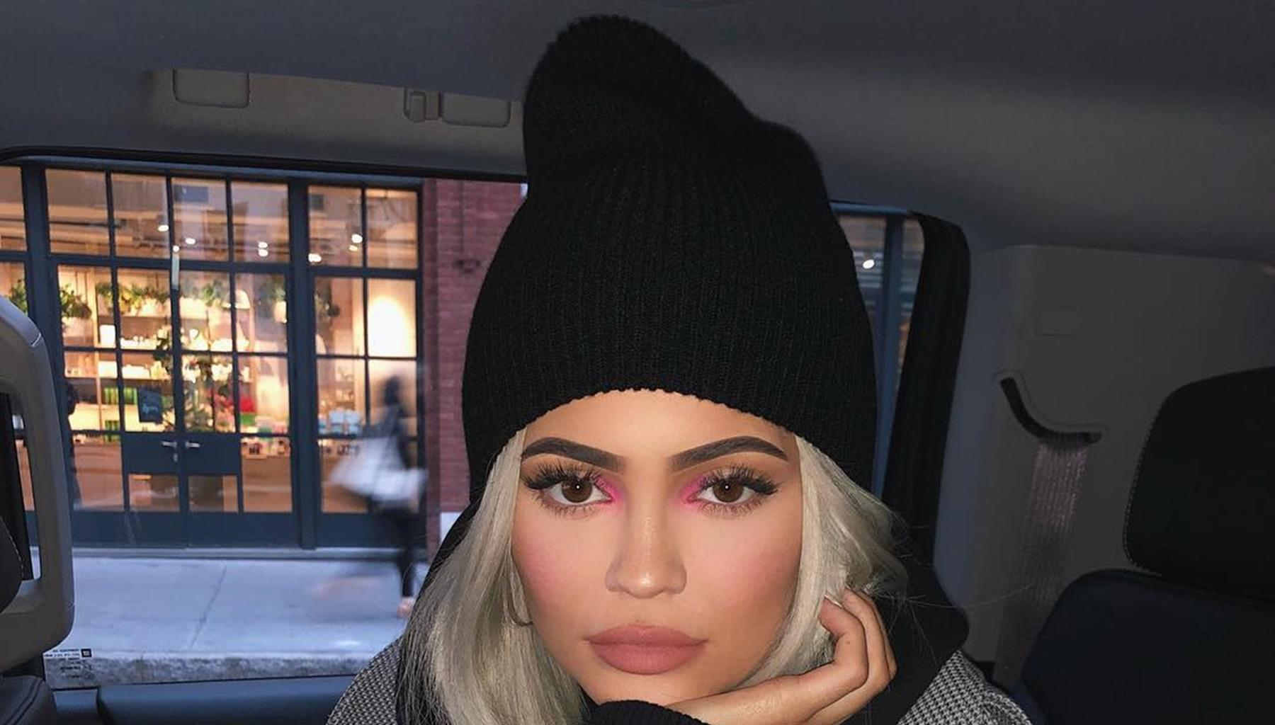 Travis Scott Tells Kylie Jenner That He Loves What He Sees After She Posts This Picture In A Sheer Dress