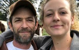 """Luke Perry's Daughter Sophie Breaks Silence After His Shocking Death Is """"Grateful For All The Love"""""""