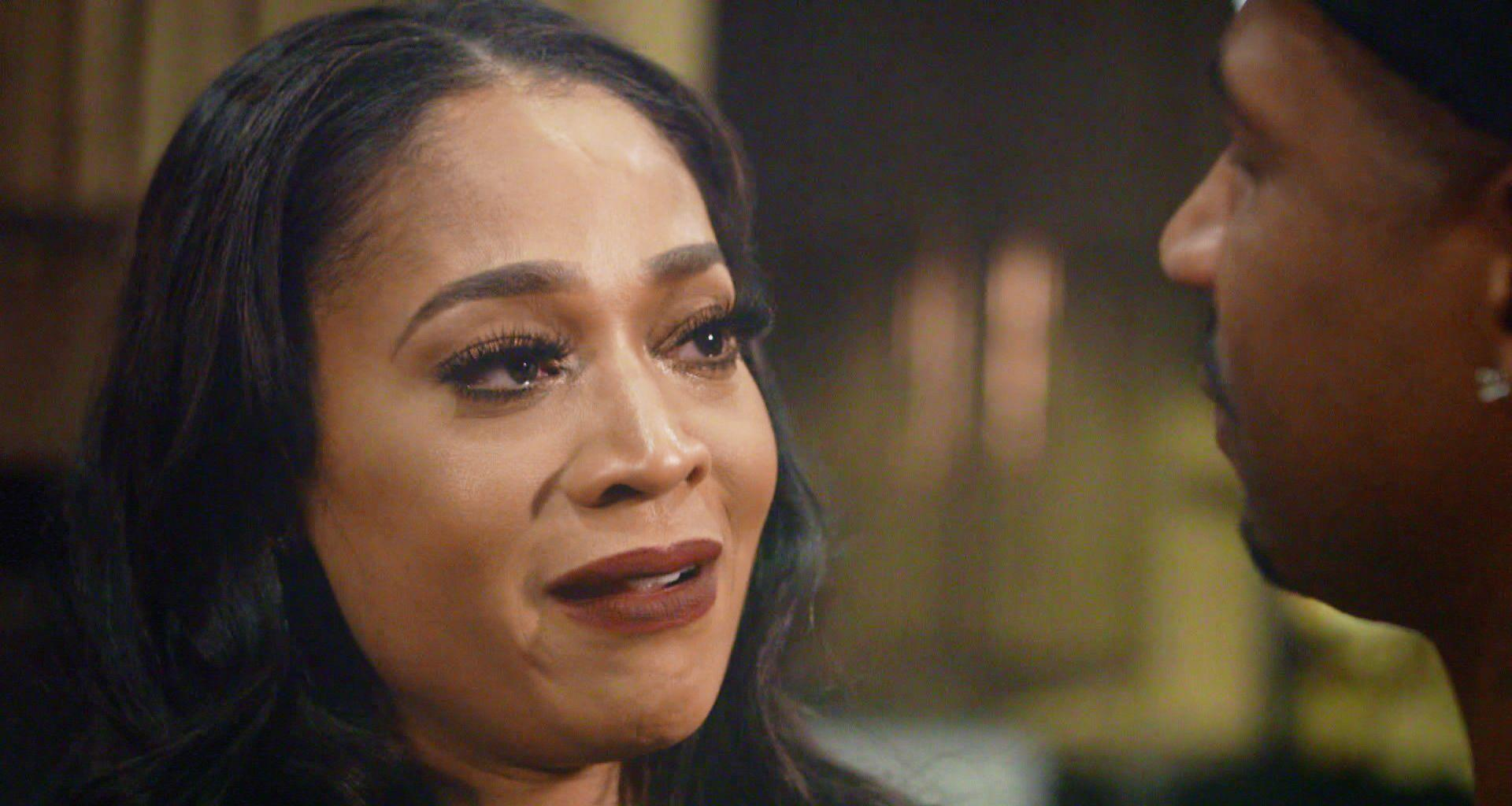 Mimi Faust Confronts Stevie J Over Introducing Their Daughter To Faith Evans Without Her Permission!