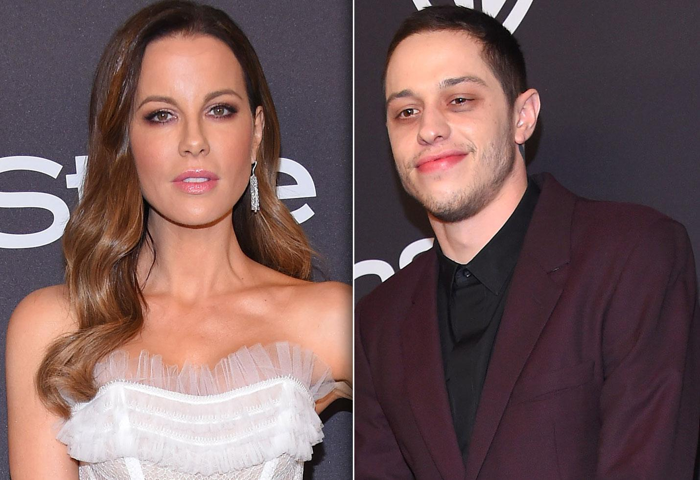 Kate Beckinsale Reacts To Meme Dragging Her Romance With Pete Davidson - Check Out Her Epic Response!