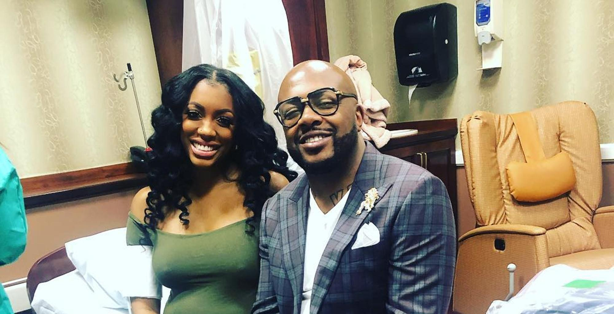 Porsha Williams Is Being Criticized For Showing Too Much In Photos Announcing The Birth Of Her Baby Girl, Pilar Jhena, With Dennis McKinley