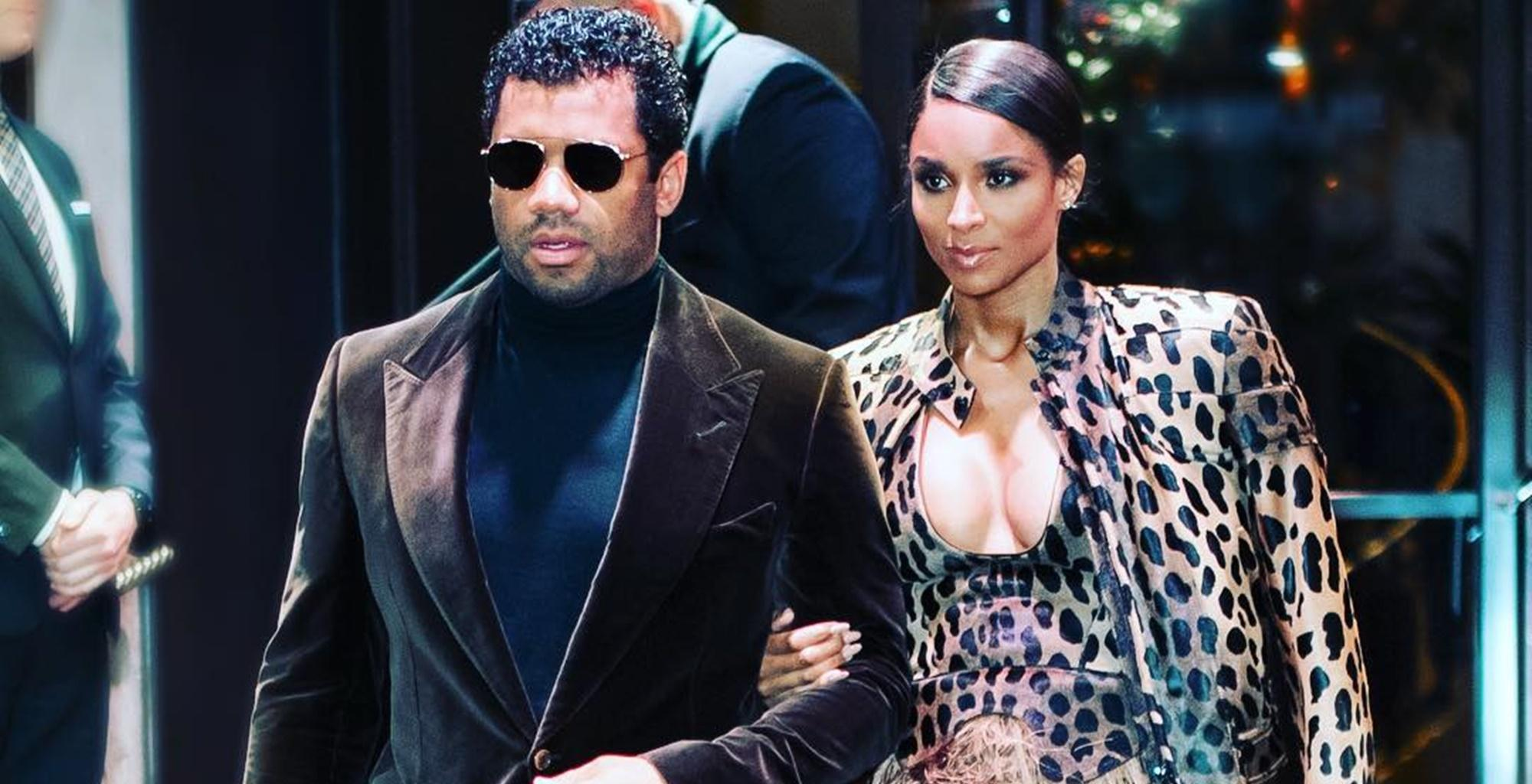 Ciara's Fans Want Her To Put A Warning Sign On Her New Pictures With Russell Wilson