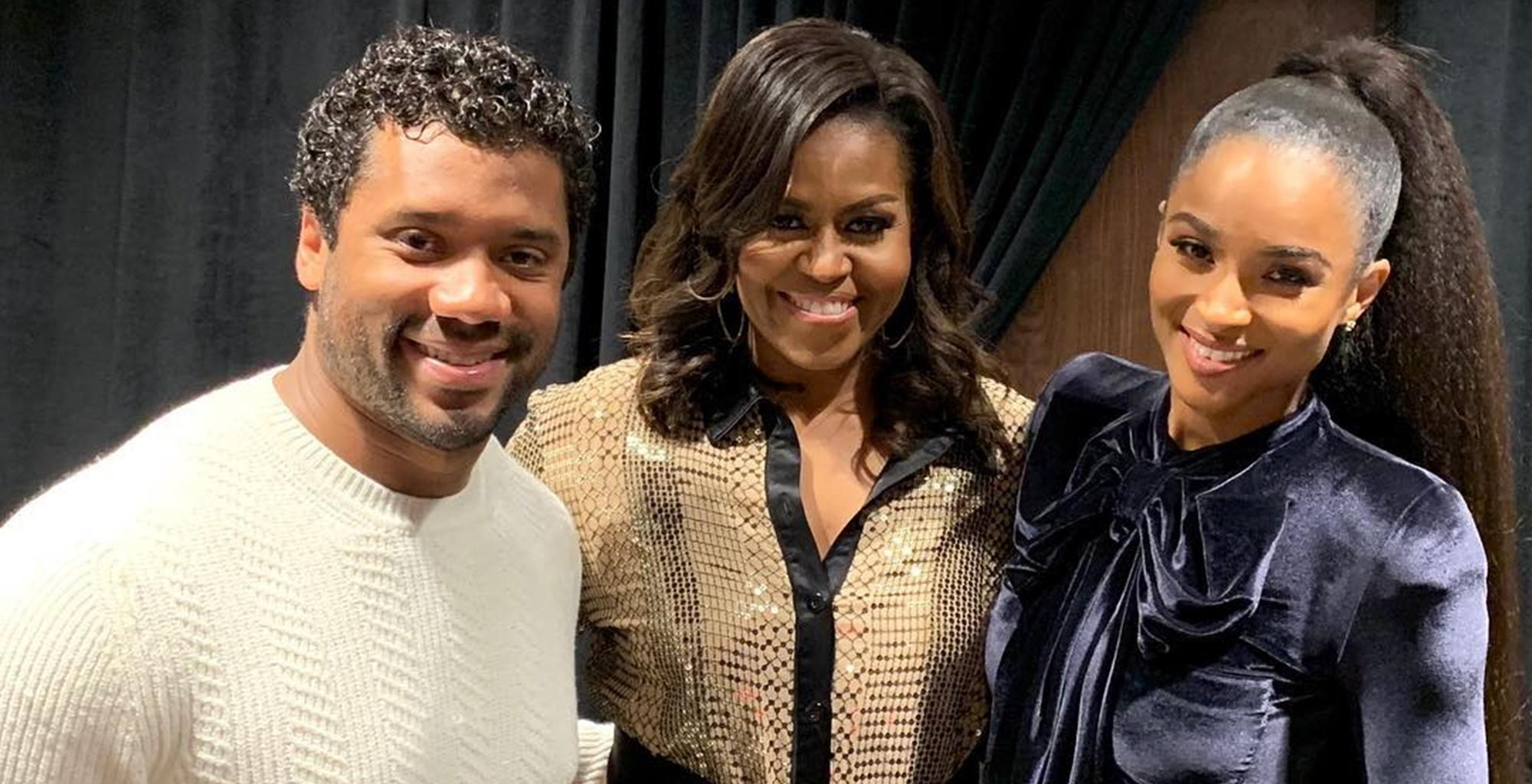 Ciara Shines And Delivers Epic Speech While Hanging Out With Michelle Obama In Cool Video -- Some Fans Give All The Praise To Russell Wilson And Here Is Why