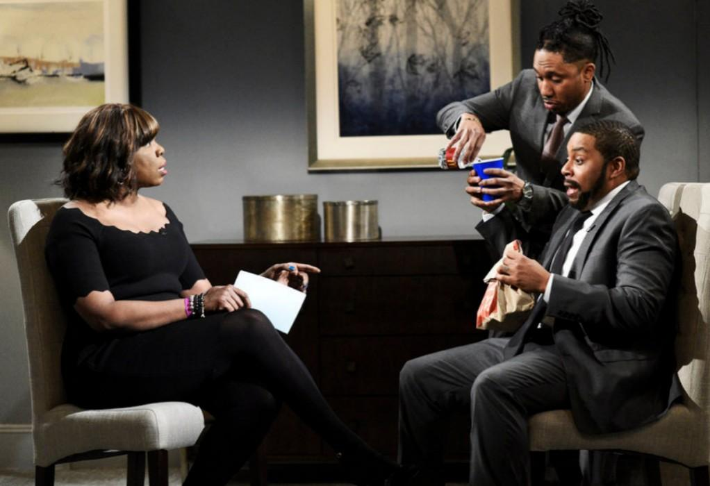'SNL' Cold Open Features R. Kelly, Gayle King Interview, Hidden Cameras, And The Jail King — Watch Video