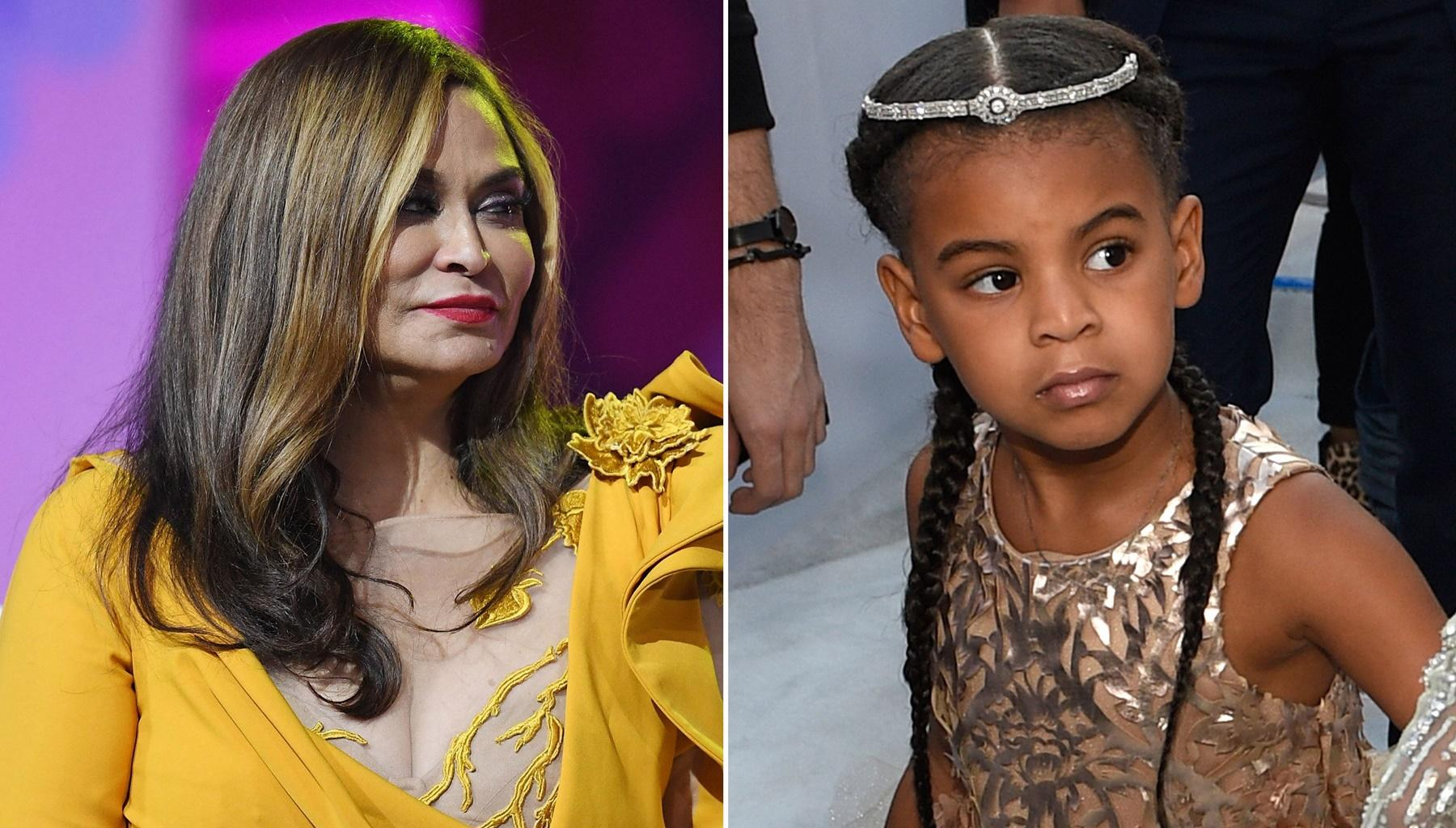 Beyonce's Daughter Blue Ivy Carter Joins Tina Knowles Lawson For Corny Joke Time Video -- Fans Are Loving Her Pretty Nails