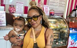 Tiny Harris' Photo With Toya Wright's Daughter, Reign Rushing Will Make You Smile