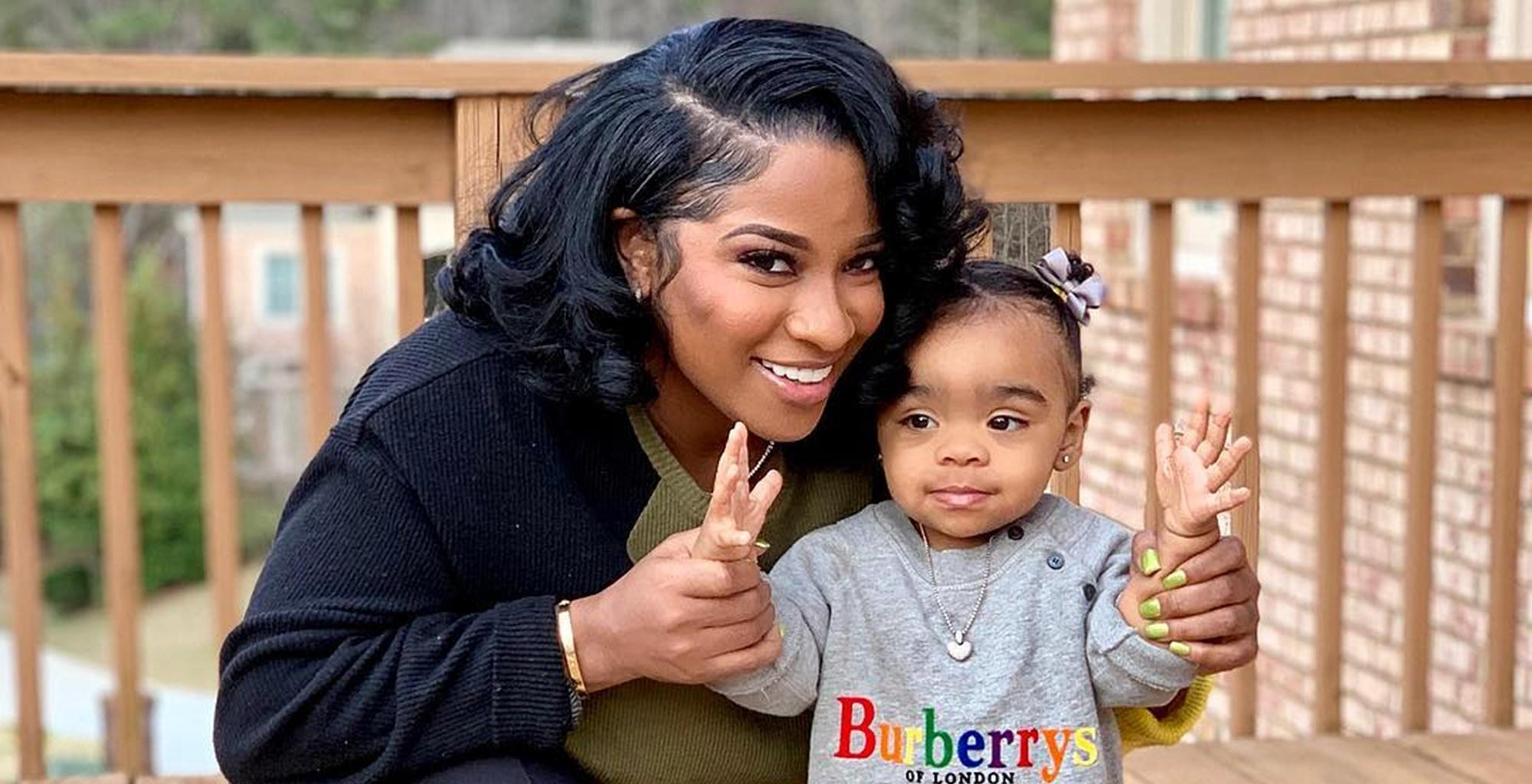 """Toya Wright Posts Pictures Of Reginae Carter Kissing Baby Reign Rushing On The Lips -- Fans Are Angry -- """"Do You Know Where Her Mouth Has Been?"""""""