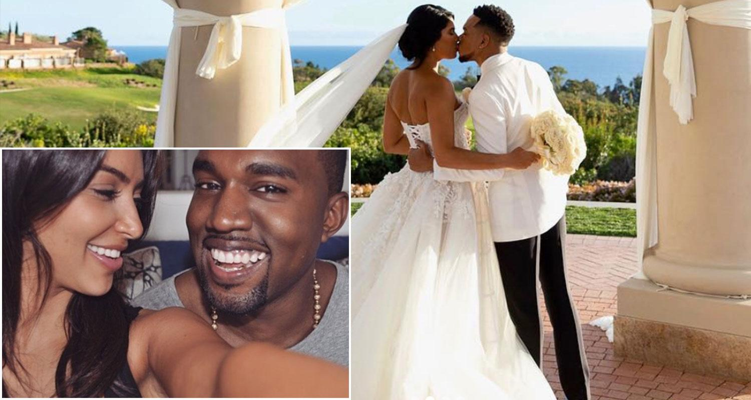 Kim Kardashian And Kanye West Are Late To Chance The Rapper's Wedding - People Bashed Kanye's Inappropriate Outfit