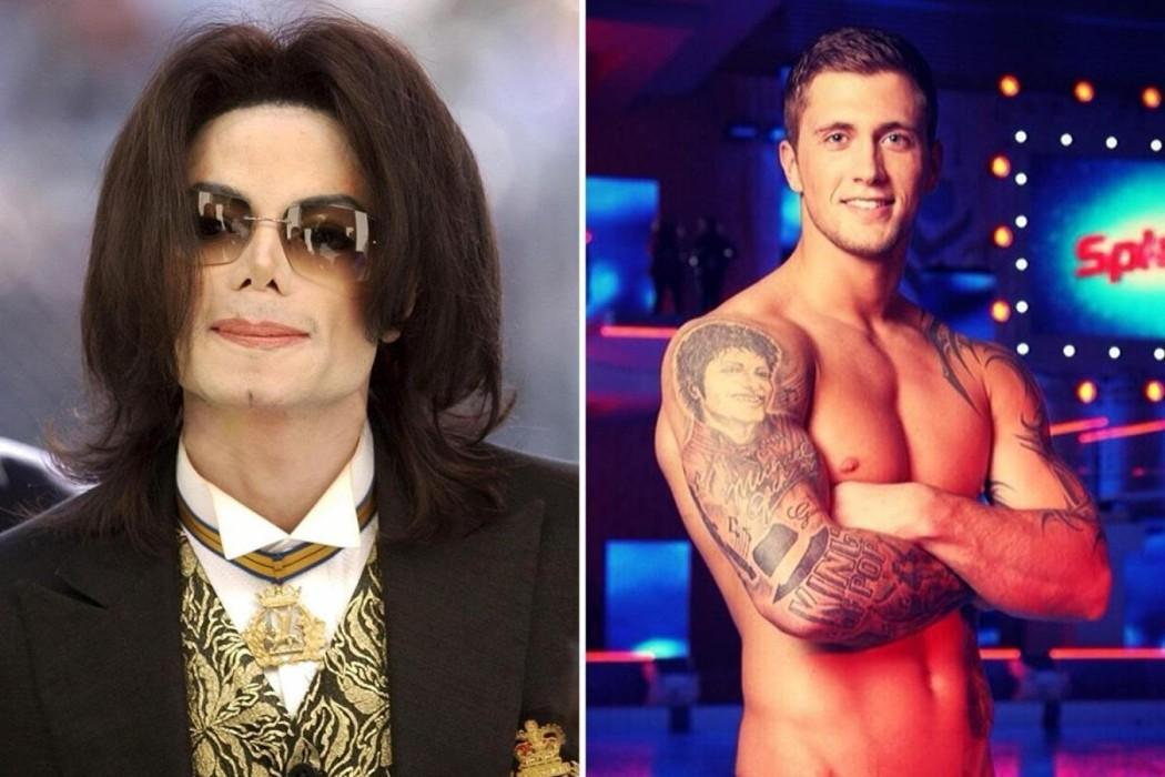 Dan Osborne Removes Massive Michael Jackson Tattoo As 'Leaving Neverland' Accusers Wade Robson And Jimmy Safechuck Talk Abuse Allegations