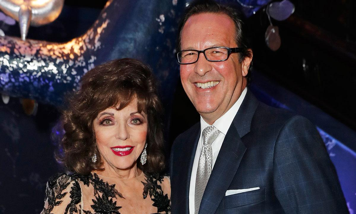 Joan Collins And Hubby Percy Gibson Put Kate Beckinsale And Pete Davidson To Shame