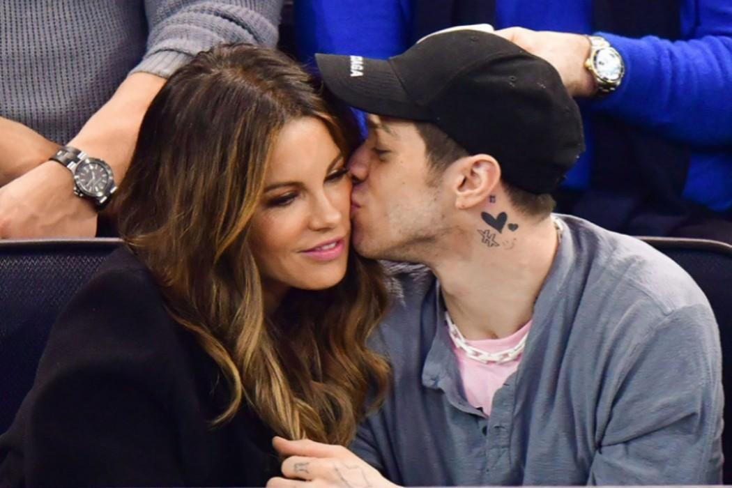 Kate Beckinsale And Pete Davidson Kiss Passionately At Hockey Game