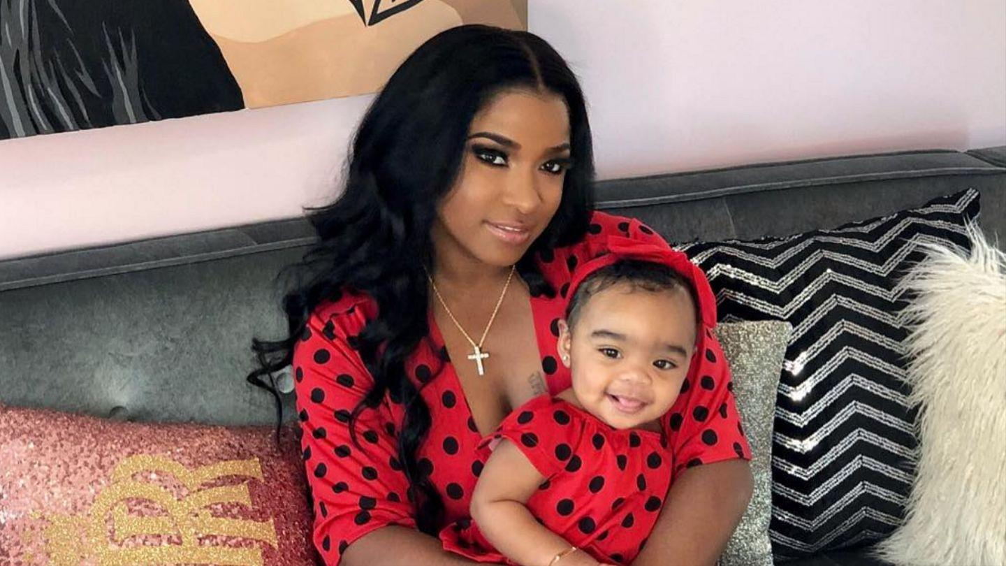 Toya Wright Shows Off Her Happiness In The Latest Photo